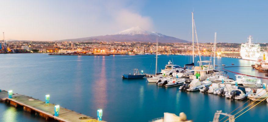 La storia della città di Catania