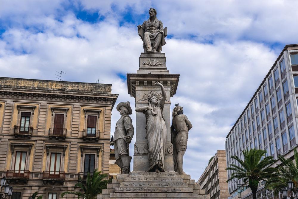 itinerario bellini catania monumento