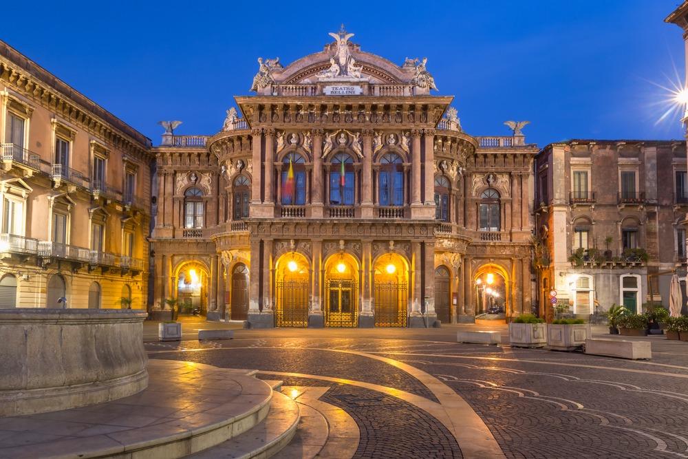 itinerario bellini catania teatro massimo